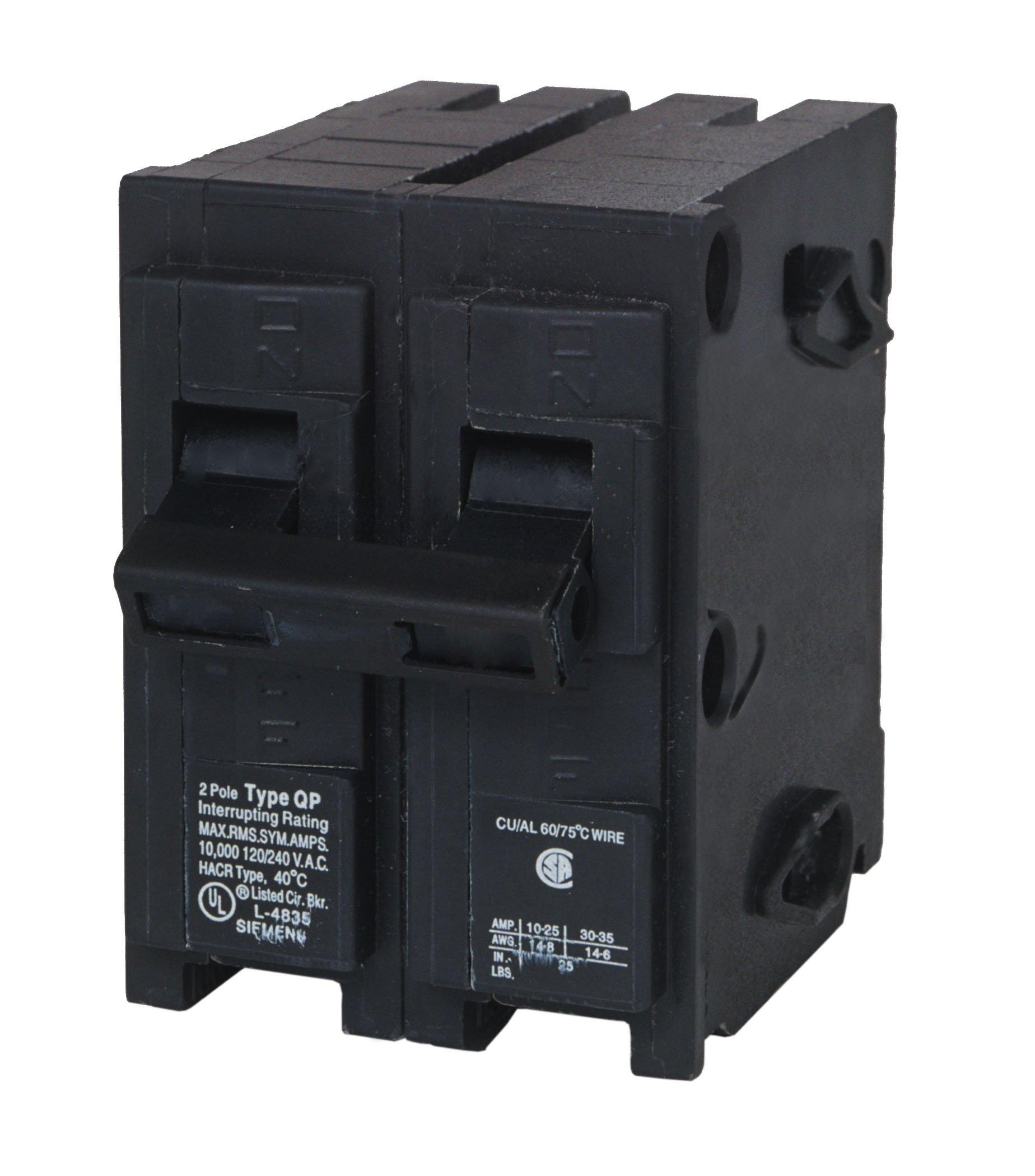 MP225 25-Amp Double Pole Type MP-T Circuit Breaker