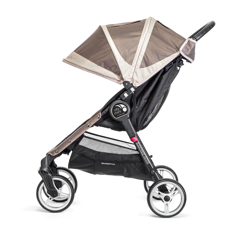 Baby Jogger City Mini 4 - Silla de paseo, color arena/piedra