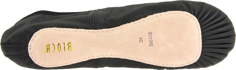 Black 7.5 D US Bloch Dance Womens Dansoft Full Sole Leather Ballet Slipper//Shoe