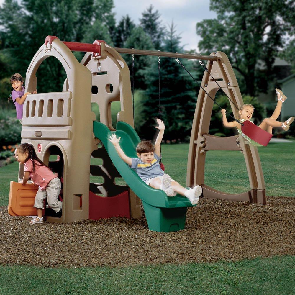 Step2 Playhouse Climber & Swing