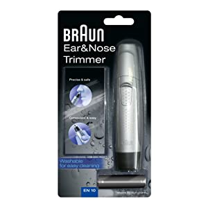 71prHaT0h6L. SL300  Braun EN10, rifinitore per peli di naso e orecchie