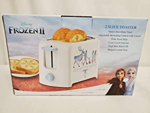 NEW SEALED 2019 Disney Frozen II Toaster MAKES SNOWFLAKE TOAST Elsa Anna