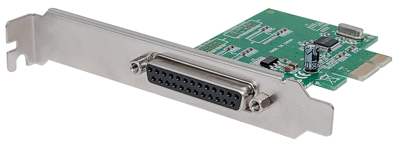Manhattan 152099scheda PCI Express (un parallelo DB25porta/IEEE 1284per X1/X2/X4/X8/X16)