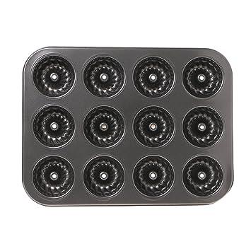 12 tasses muffin moule Pan plateau Home Bakeware antiadhésif Cuisson Moules Four Cuisine