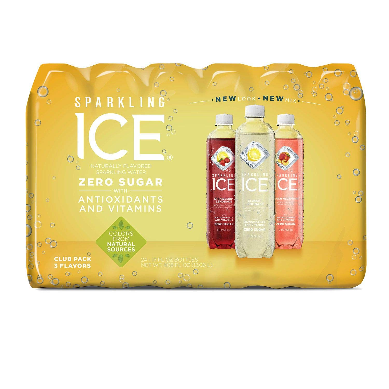 Sparkling ICE Citrus Celebration Variety Pack 17 Oz, 24 Pk. A1 by Sparkling ICE