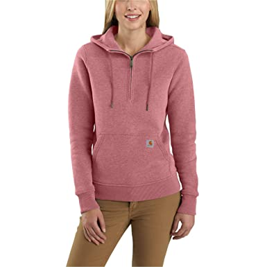 78597a0747f61 Amazon.com: Carhartt Women's Clarksburg Half Zip Hoodie: Clothing