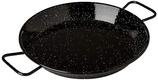 Garcima M282970 - Paellera esmaltada Pata Negra 30 cm