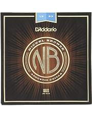 D'Addario Nickel Bronze Acoustic Guitar Strings, Light