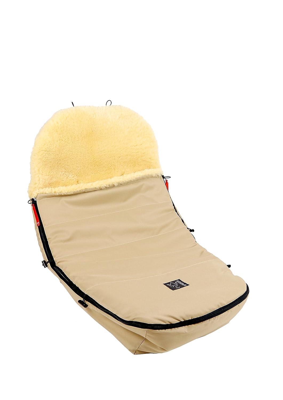 Kaiser - Saco de abrigo con forro fabricado en piel de cordero para todos los modelos de las marcas Bugaboo y Joolz marine: Amazon.es: Bebé