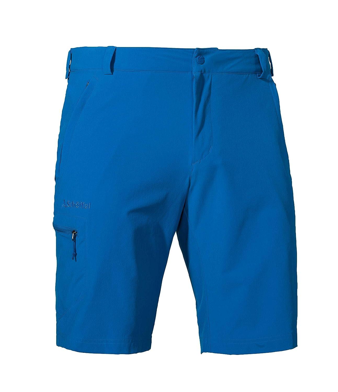 Schöffel Shorts Folkstone Herren Hose, vielseitige kurze Wanderhose mit verstellbarem Bund, komfortable Outdoor Hose mit praktischen Taschen