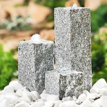 Heissner Garten/Terrassen Brunnen Granit \