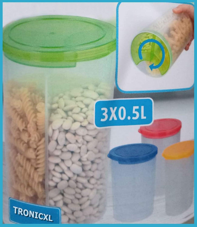 TronicXL - Juego de 4 tarros de Cocina, Cajas de conservas ...