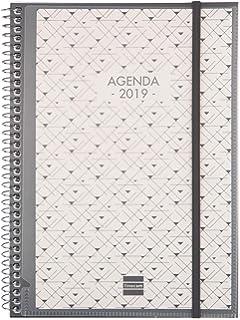 Agenda 2019 semana vista apaisada español: Amazon.es ...