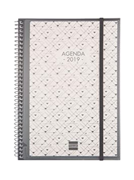 Agenda 2019 semana vista vertical catalán
