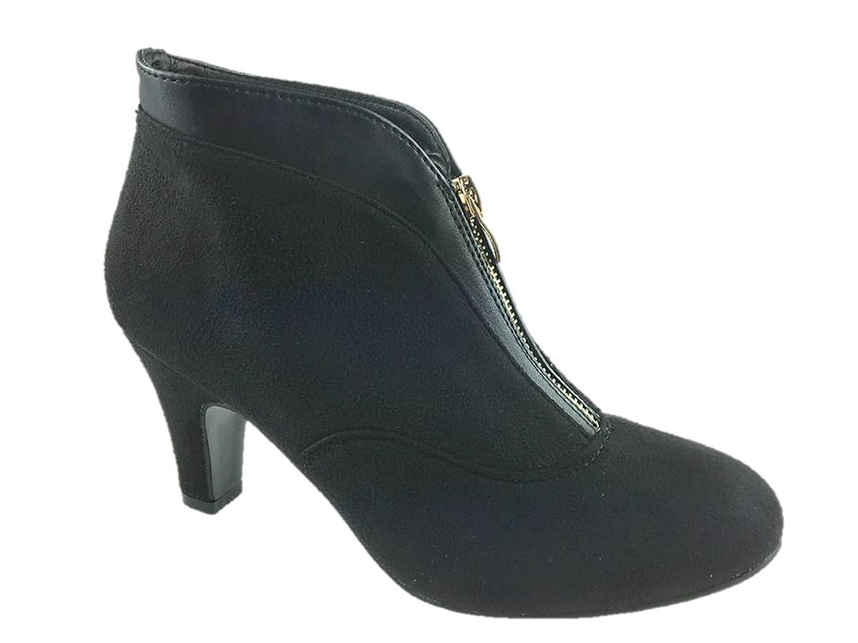Wallis , Mädchen Damen Chelsea Boots , schwarz schwarz
