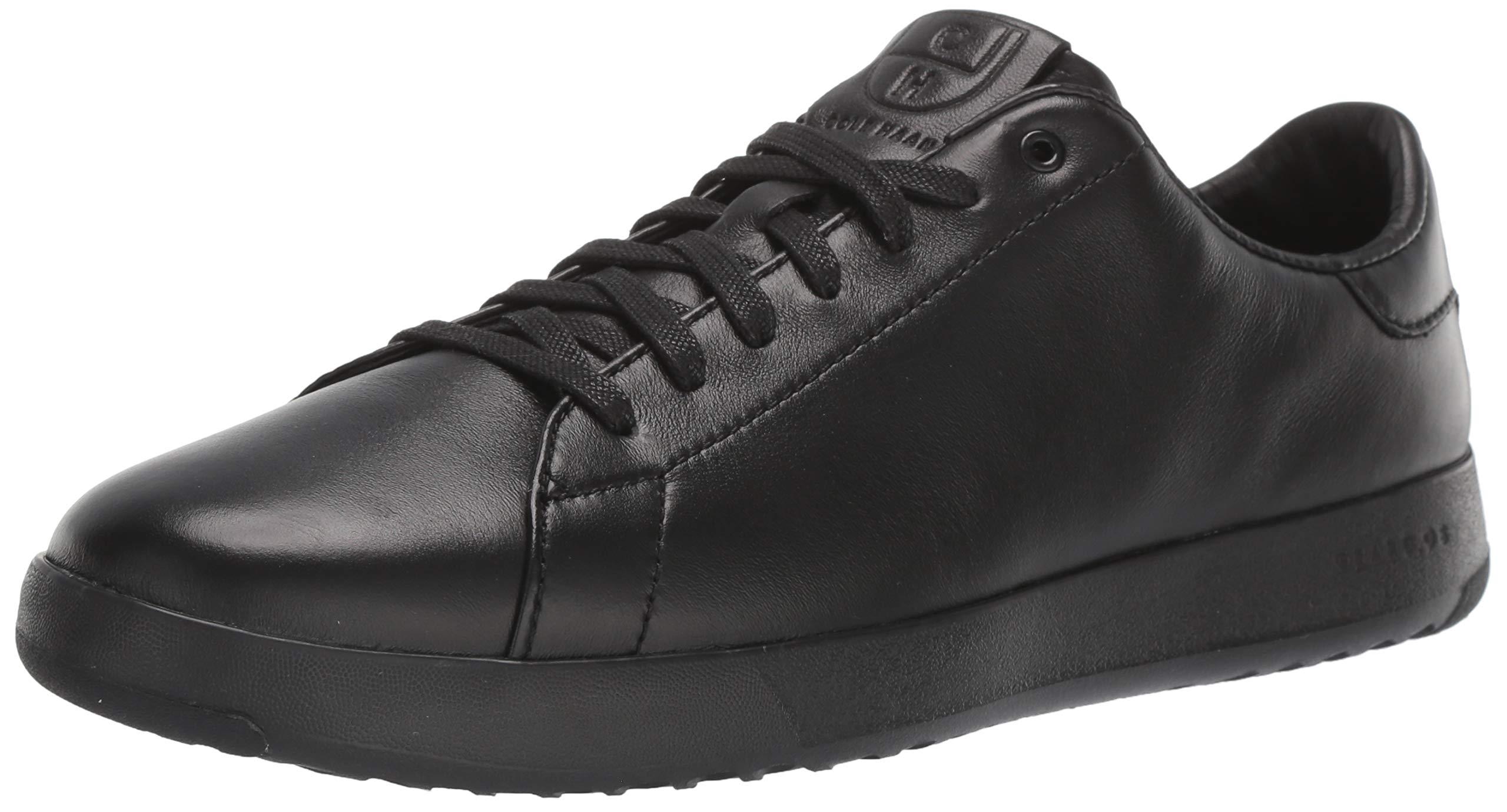 Cole Haan Men's Grandpro Tennis Fashion Sneaker, Black/British Tan, 7 M US