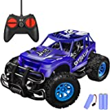 Remote Control Car - Durable Non-Slip Off-Road Shockproof RC Racing Car (Dark Blue) RC Toys Car for Kid 3 4 5 6 7 8 9…