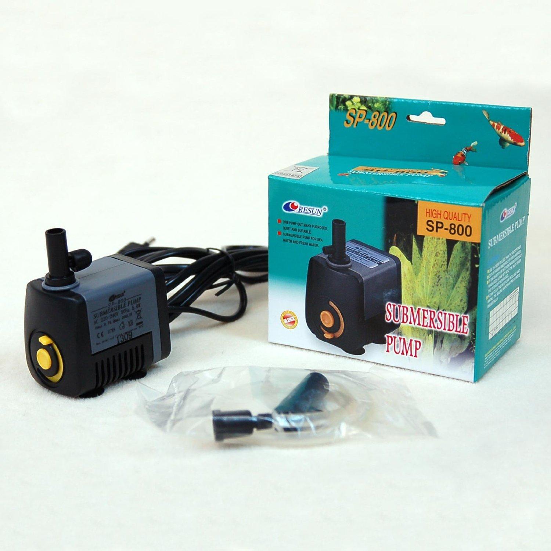 Pompa sommergibile per gioco di acqua, fontana, cascata, acquario, tipo W1 800 (21290)