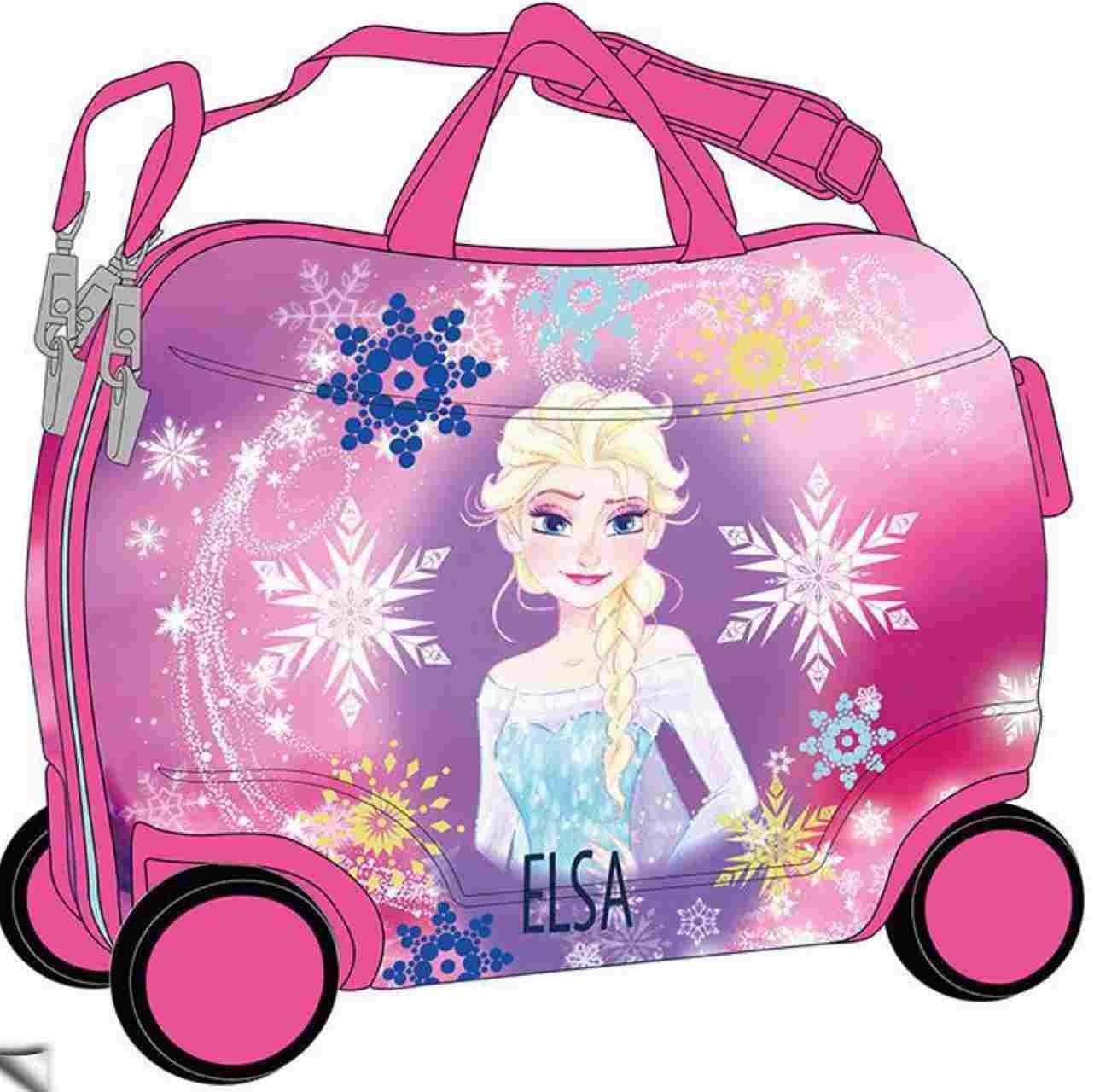 Frozen Elsa Kindergepäck, 50 cm, 34 liters, Rosa