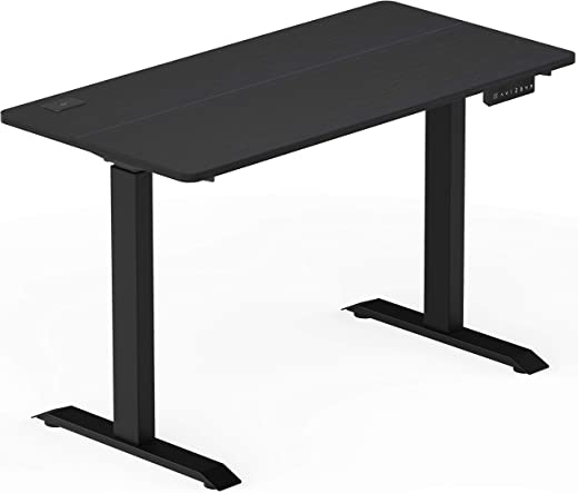 SHW Electric Memory Preset Height Adjustable Computer Desk, 48 x 24 Inches,...