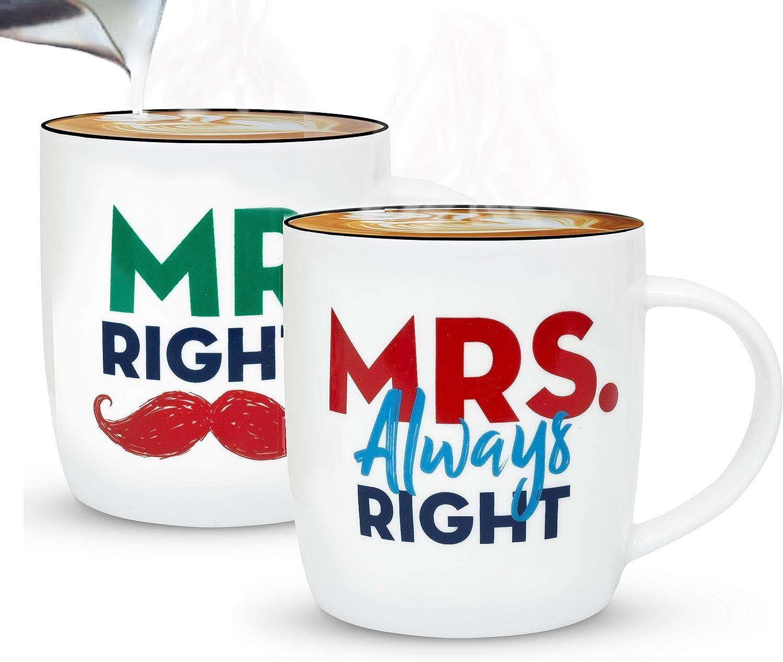 """Tazas para El y Ella: """"Mr. & Mrs."""""""