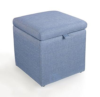 HJHY® Sgabello per il divano Sgabello basso Pouf Archiviazione ...