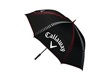 Callaway Tour Authentic 68 Double Automatic Paraguas de Golf, Unisex Adulto, Negro, Talla