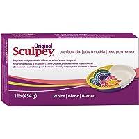 Polyform Original SCULPEY - 1lb/454GM - White Polymer Clay Accessory