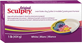 product image for Scupley Oven Bake Clay, White