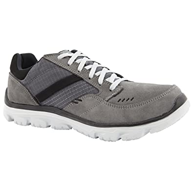 0445427b95a4a Skechers Mens L-Fit Comfort Life Grey Leisure Trainers Size 12 ...