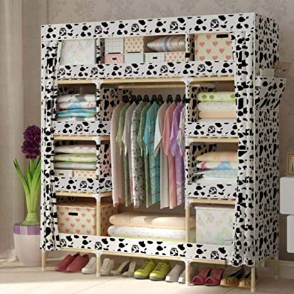 7d1d6170ae6f Amazon.com: YANFAMING Clothes Storage Organizer Closet,Assembly ...