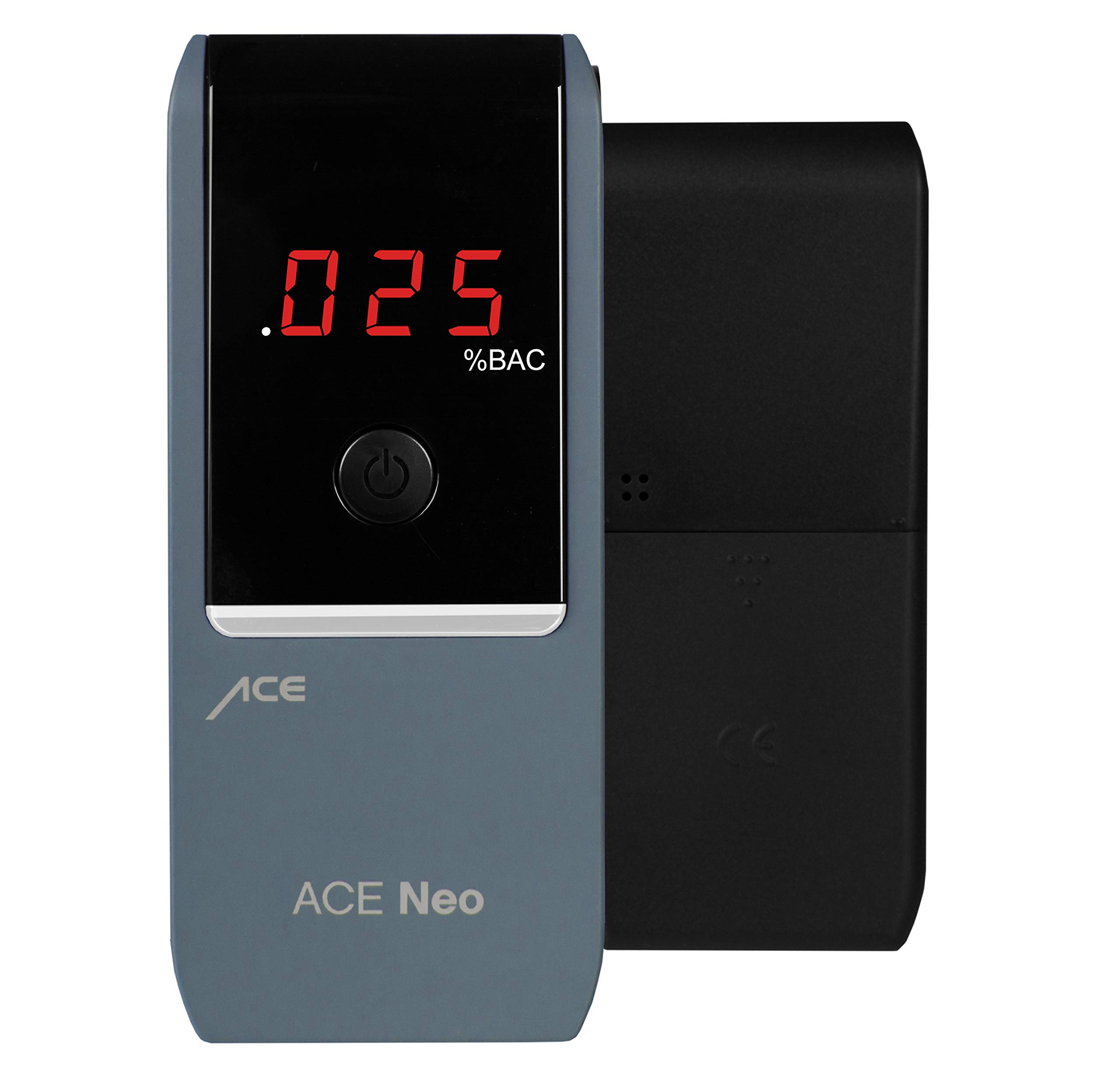 ACE Neo Breathalyzer with Police Grade Accurate Portable Fuel Cell Sensor and .005% Accuracy, Blue by ACE Instruments (Image #2)