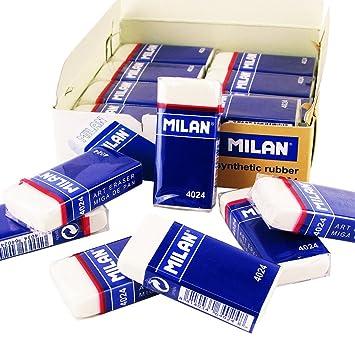 MILAN Caja DE 24 Unidades DE Goma DE BORRAR MIGA DE Pan 4024 con ...