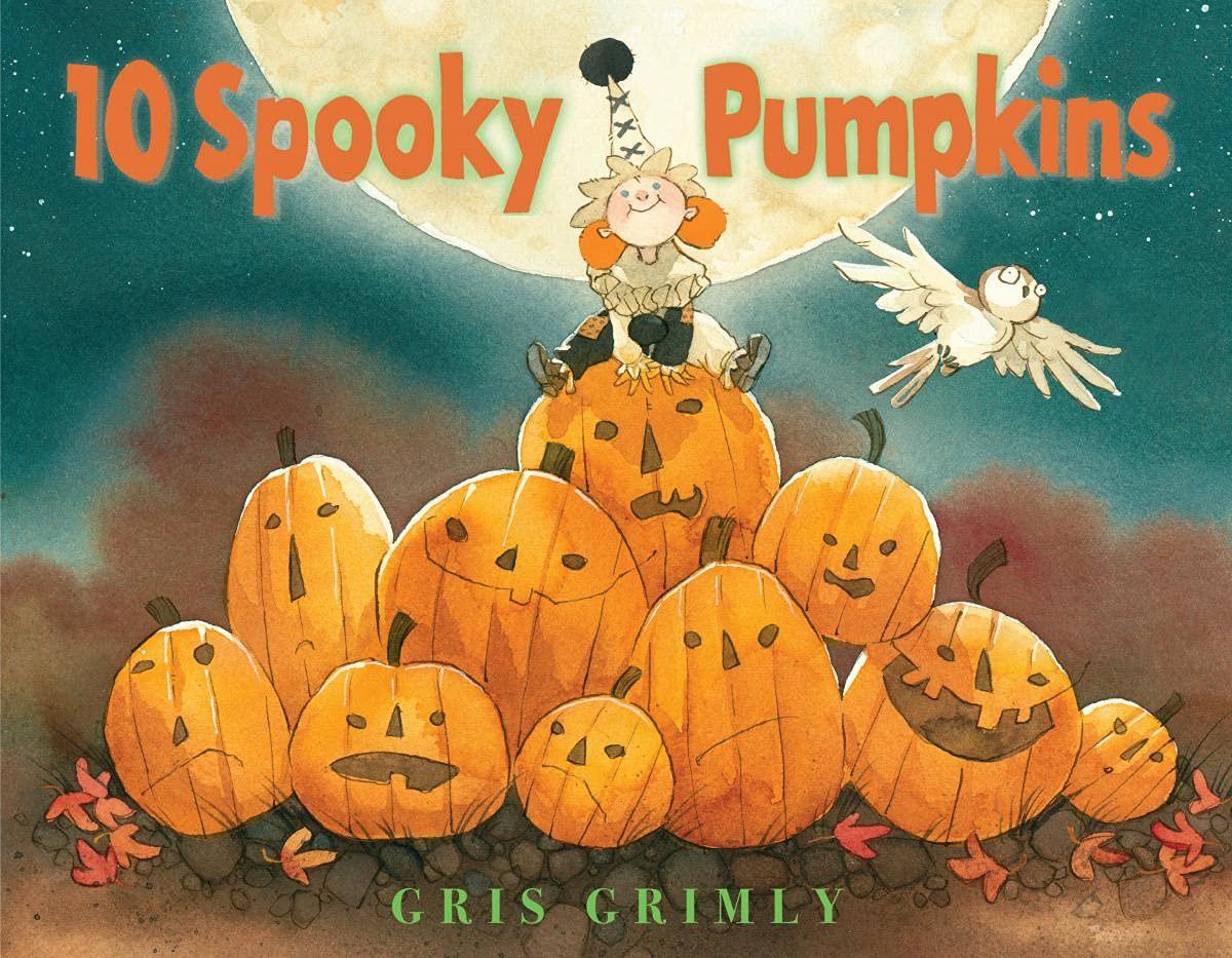 Ten Spooky Pumpkins: Grimly, Gris, Grimly, Gris: 9781338112443: Amazon.com:  Books