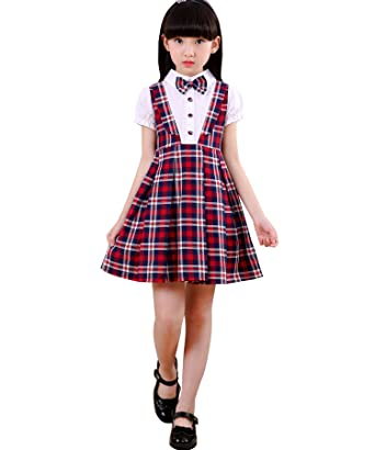 school clothes girls summer dress kids clothes girls clothing clothes children roupas (X-Large