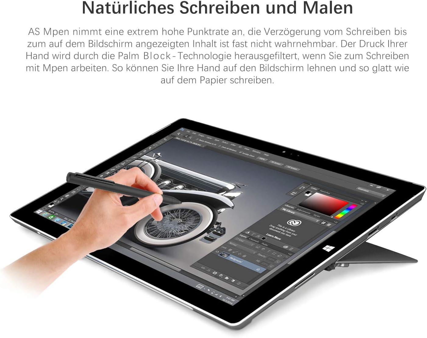 NEUE DAWN Stylus de repuesto para Surface Pen Microsoft Surface Pro,Surface 3,Surface Pro 3//4//6,Surface Laptop//Laptop2//Book//Book 2//Surface Studio//ASUS Vivobook Flip//T102HA//Spectre x360