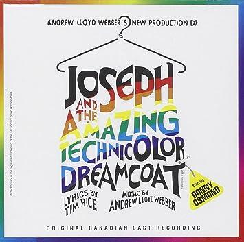 joseph and the amazing technicolor dreamcoat soundtrack donny osmond