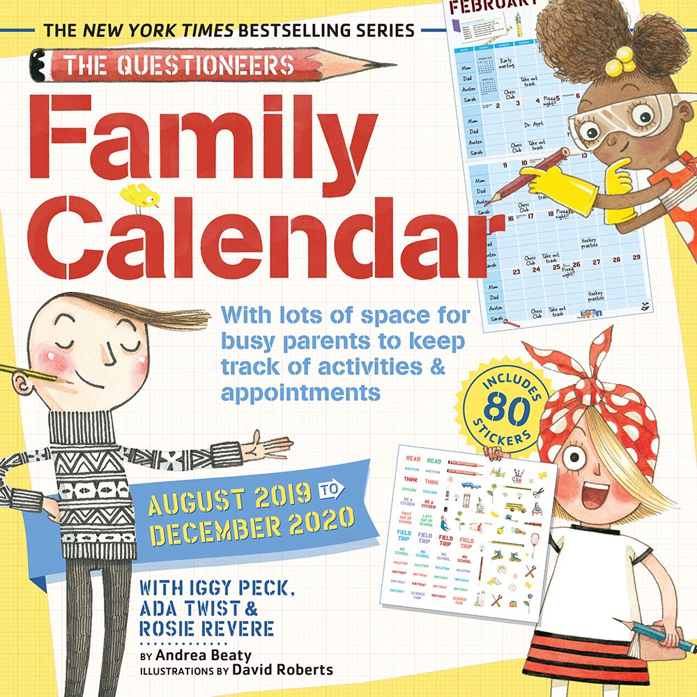 Questioneers Family Planner 2020 Calendar product image