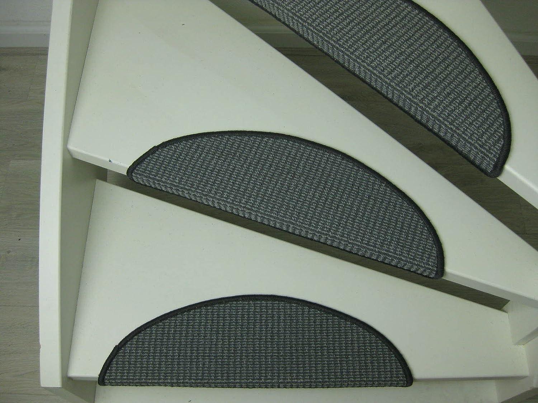 passatoie per singoli gradini Bamako avorio antracite 56x20cm antracite 15 Tappeti per scalini