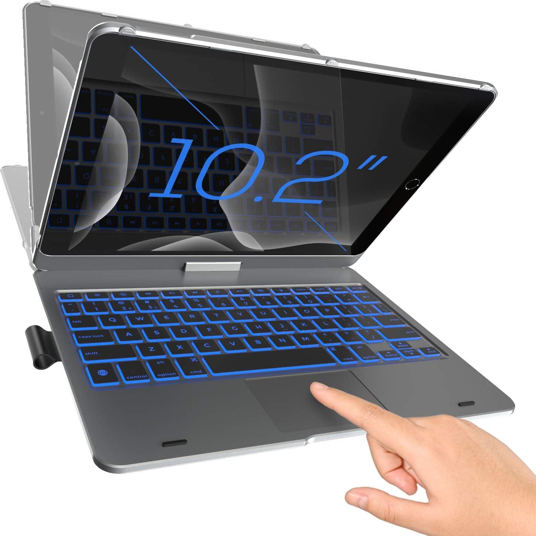 Funda con teclado para iPad 7ma Gen/Air 3/Pro de 10.2 (GCHB)
