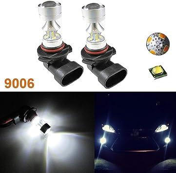 2x Bulbs H11 White High Power 80W LED Fog Lights Driving For Infiniti JX35 M35
