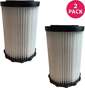 Crucial Vacuum Replacement Vacuum Filters - Dirt Devil F3 Vacuum Filter - 7.2 Inches Tall HEPA Style Part, Washable and Reusable - Pair with Parts #3250435001 Model – Bulk (2 Pack)