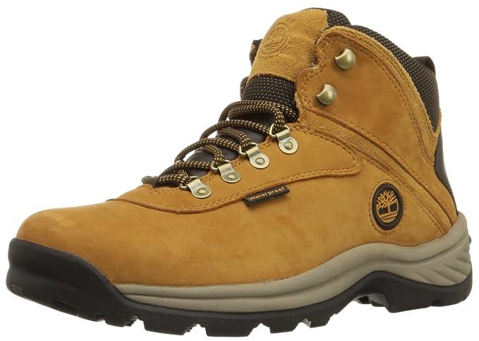 Timberland Micheal Hombre Castaño claro Piel Zapatos Botas Talla EU 44