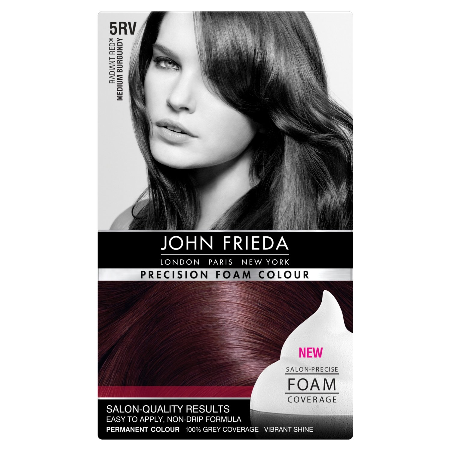 John Frieda 4r Dark Red Brown Foam Love This Color