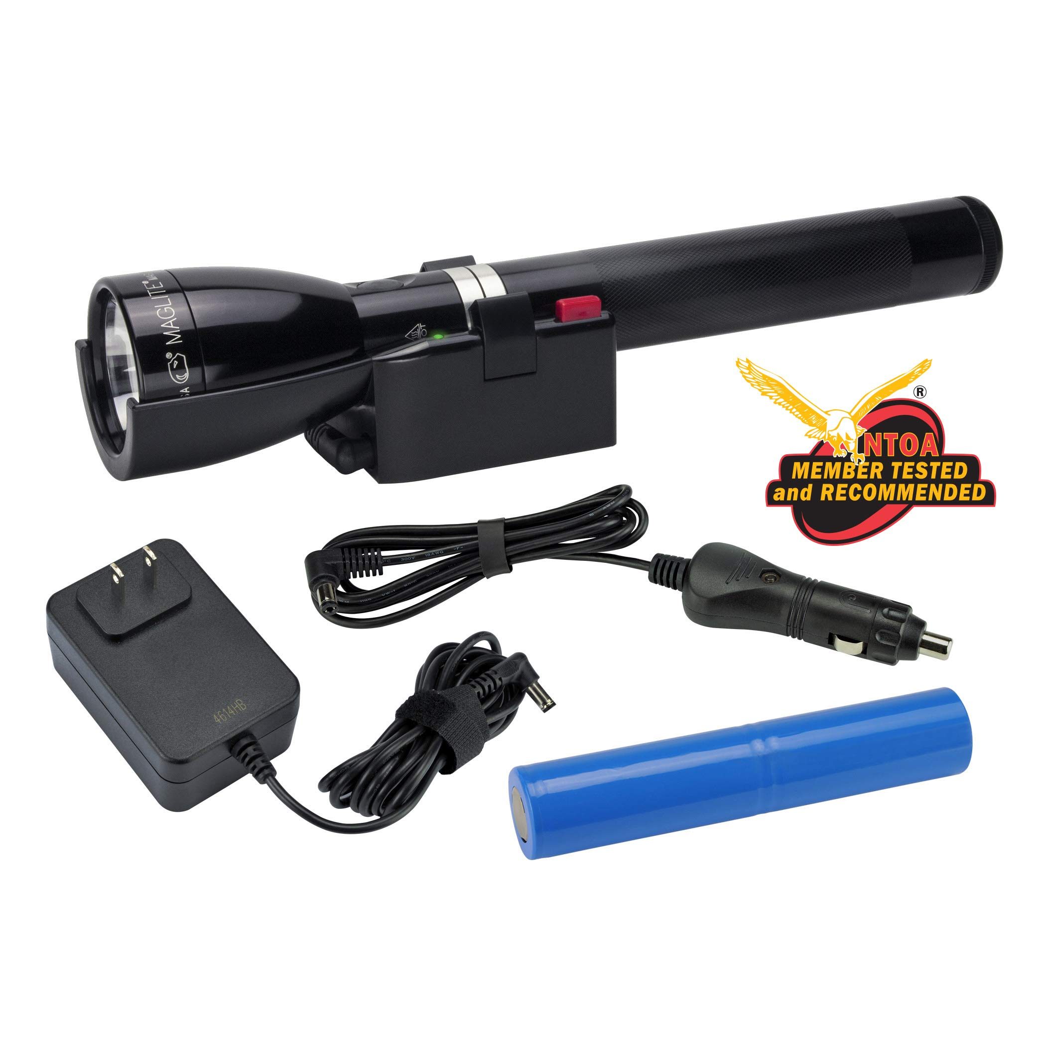Maglite, LED Mag Charger with Base, Black