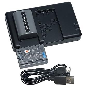 Batería para Sony DCR-DVD202E DCR-DVD203E DCR-DVD205E Cámara 700mAh