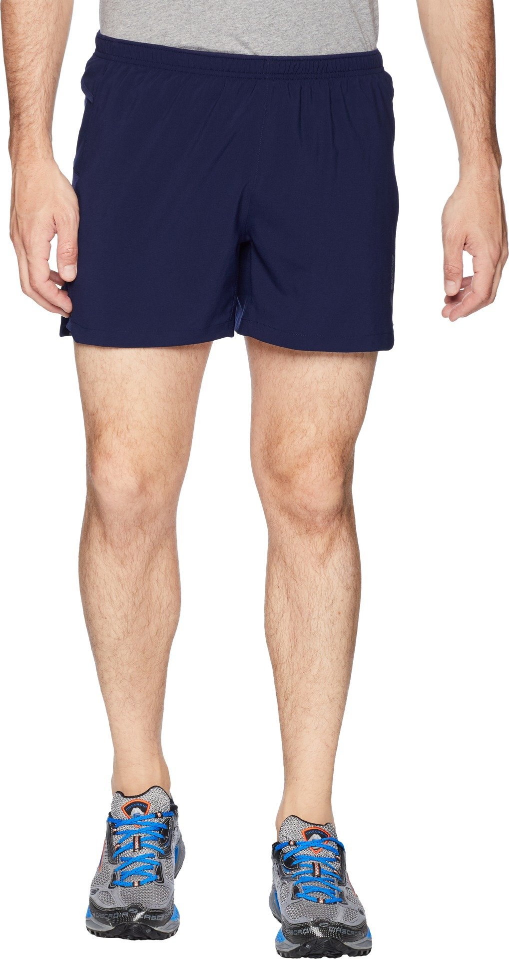 Brooks  Men's Sherpa 5'' Shorts Navy Small 5 by Brooks (Image #1)
