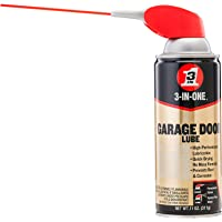 3-In-One Professional Garage Door Lubricant 11 Oz With Smart Straw Sprays