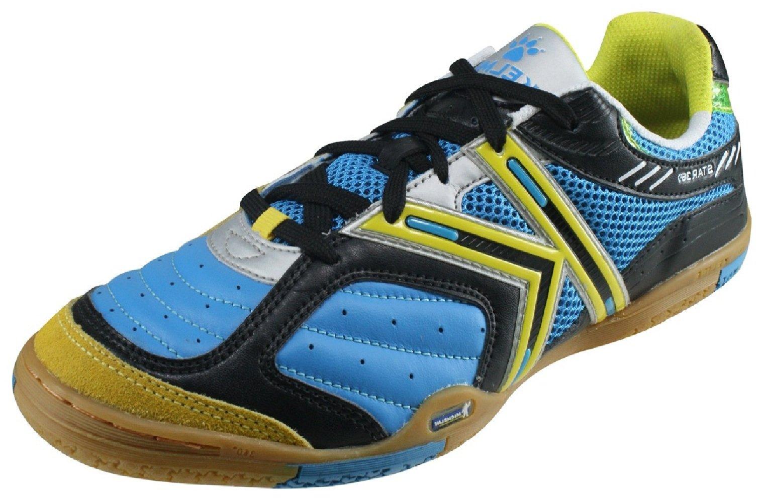 83ec25e549b Galleon - KELME Star 360 Mens Michelin Leather Mesh Inset Soccer Shoes  Turquoise
