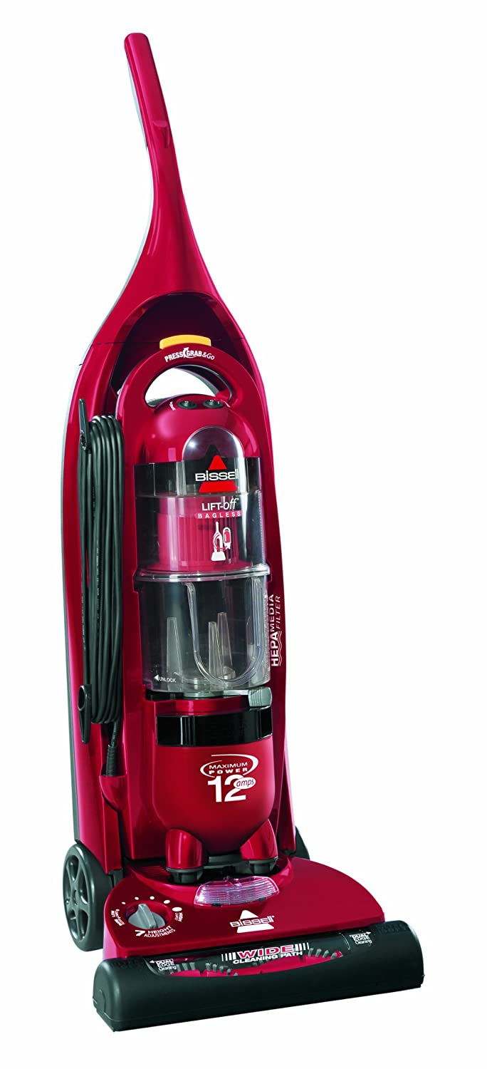 BISSELL 3750E Lift Off Bagless Combination Cylinder And Upright Vacuum Cleaner Amazoncouk Kitchen Home